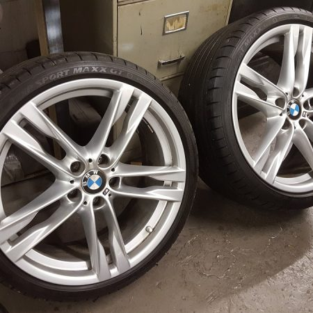 OEM Silver Alloy Wheel Refurbishment Nottingham, Derby & Long Eaton