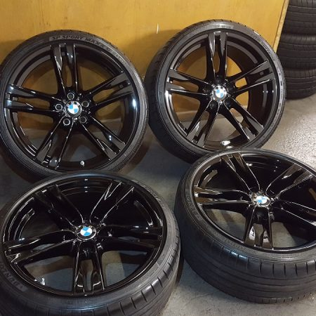 Gloss Black Alloy Wheels Nottingham/Derby/Long Eaton