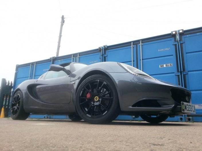 Lotus Elise alloy wheel refurbishment Nottingham Derby & Long Eaton