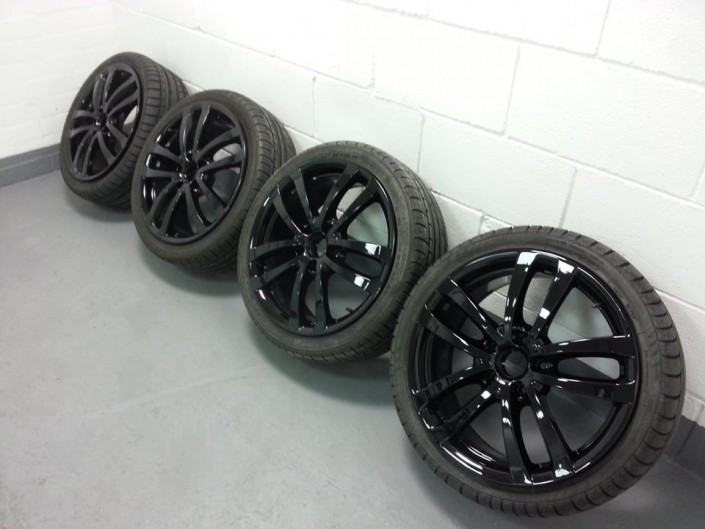 Seat FR alloy wheel refurbishment Nottingham Derby & Long Eaton