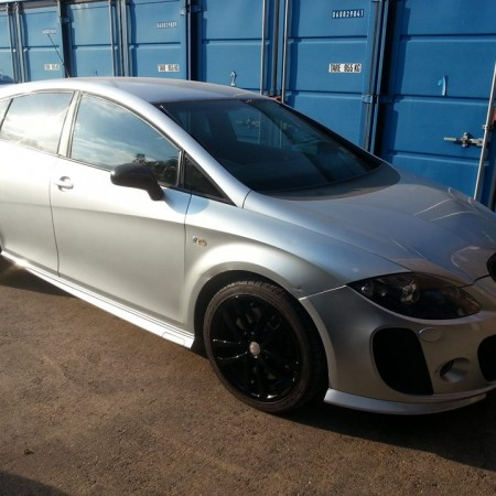 Seat FR alloy wheel refurbishment Nottingham Derby & Long Eaton