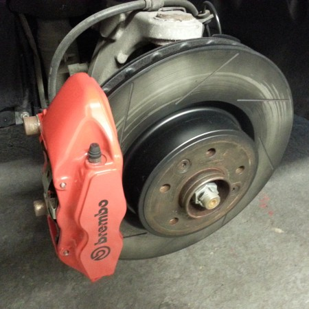 Brembo Brake Caliper Painting Nottingham Derby & Long Eaton