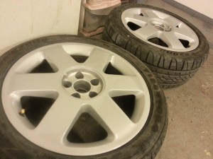 Audi OEM Wheel Refurb Nottingham, Derby & Long Eaton