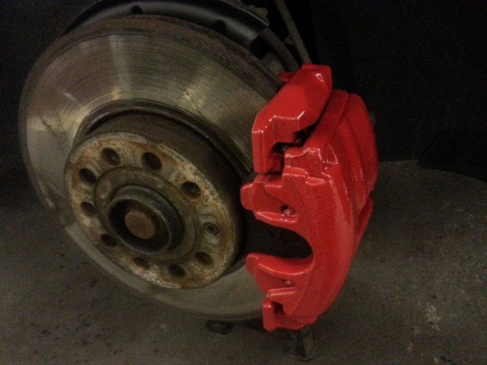 Seat Ibiza Brake Caliper Painting Nottingham, Derby & Long Eaton