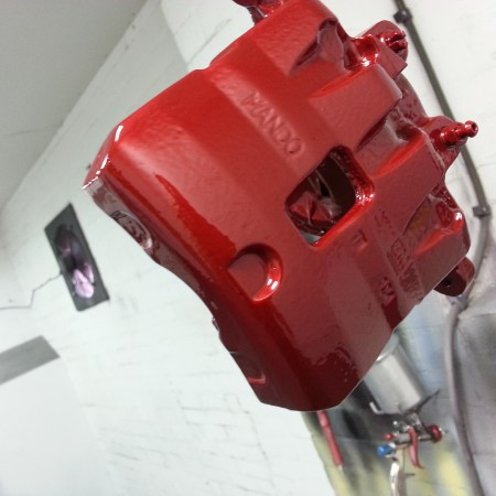 Vauxhall Brake Caliper Painting Nottingham Derby & Long Eaton