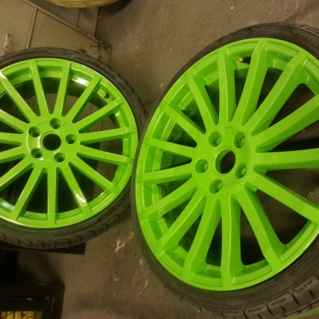 Focus RS Green Alloys Nottingham, Derby & Long Eaton