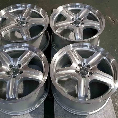Mercedes ML diamond cut alloy wheel refurbishment Derby Nottingham