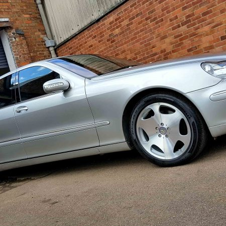mercedes slab diamond cut CNC lathe alloy wheels derby nottingham long eaton
