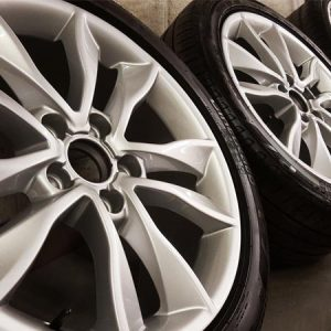 standard OEM factory finish alloy wheel repair and refurbishment derby nottingham long eaton